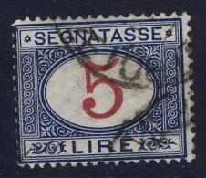 Italy: 1903  Segnatasse Sa Nr 30  Used - 1900-44 Vittorio Emanuele III