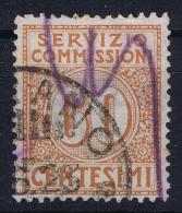 Italy: 1913 Servizio Commissioni Sa Nr 2 Used - Portomarken