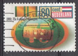 Pays-Bas Mi.nr.:1417 Internationaler Viertagemarsch Von Nimwegen 1991 Oblitérés / Used / Gestempeld - 1980-... (Beatrix)