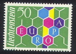 EE--470. EUROPA 1960,  N° 355,   * , Cote 150.00 €, A Saisir CAR VRAIMENT UNE INFIME TRACE - Liechtenstein