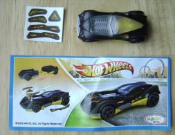 KINDER SURPRISE HOTWHEELS CAR MPG TR129 + PAPER - Kinder & Diddl