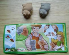 KINDER SURPRISE NATOONS FT025 + PAPER - Kinder & Diddl