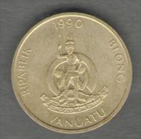 VANUATU 2 VATU 1990 - Vanuatu