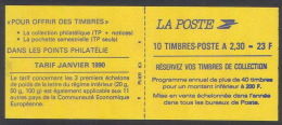 BB--937-. Carnet. N° 2630 C1,  * * ,  Cote 32.00 €,  A Saisir, Liquidation - Carnets