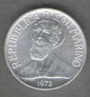 SAN MARINO 1 LIRA 1972 - San Marino