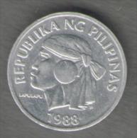 FILIPPINE 1 SENTIMO 1988 - Filippine