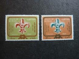 KOWEIT, ann�e 1966, YT n� 332 et 333 neufs, tr�s l�g�re trace charni�re