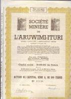 Congo - Société  Minière De L'Aruwimi-Turi - Afrique