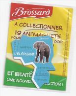 MAGNET L' ELEPHANT D´AFRIQUE SAVANE BROSSARD  ( GABON - NIGERIA - CAMEROUN - BENIN ) - Animaux & Faune
