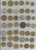 Lot de 63  monnaies - A voir