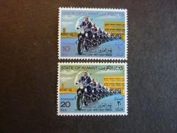 KOWEIT, ann�e 1969, YT n� 436 et 437 neufs, tr�s l�g�re trace charni�re