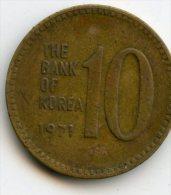 Korea 10 Won 1971 - Korea, South
