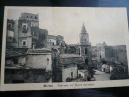Matera Panorama Del Sasso Baresano Usata 22.1.1943 - Matera