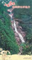 Sandie  waterfall   , 2010  prepaid card, postal stationery