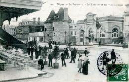 N°40379 -cpa Dieppe -la Brasserie- - Cafés