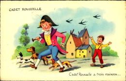 CADET ROUSSELLE A TROIS MAISONS - Contemporain (à Partir De 1950)