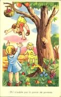 ENFANTS CEUILLANT DES POMMES  N°303 PHOTOCHROM - Contemporain (à Partir De 1950)