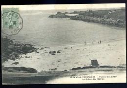 Cpa Du 29 Argenton Porspoder Pointe De St Laurent La Grève Des Dames ....  Ploudalmézeau  Brest  JUI18 - Ploudalmézeau