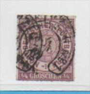 ALLEMAGNE, Confédération Du Nord, Yert N°1 - Norddeutscher Postbezirk
