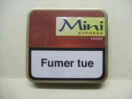 BOITE Métal Vide MINI EXPRESS Arôme (20 Cigares) - Étuis à Cigares