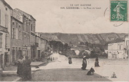 1026 - LUZECH - LA PLACE DU CANAL - Luzech