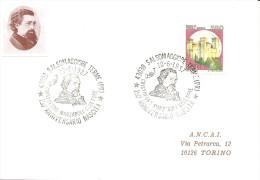 ITALIA - 1987 SALSOMAGGIORE TERME (PR) 150° Anniv. Nascita Di CRISTOFORO MARZAROLI Scultore - 392 - Famous People