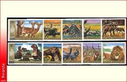 Rwanda 0451/60**  Akagera II  MNH