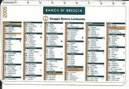 CAL073 - CALENDARIETTO 2005 - BANCO DI BRESCIA - Calendari