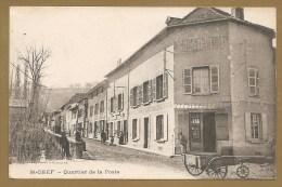 """St-CHEF -- Quartier De La Poste - QUINCALLERIE - FER -- """"NEYRET"""" -- GRAINS -PLÂTRE DE PARIS - FUMIER - Saint-Chef"""