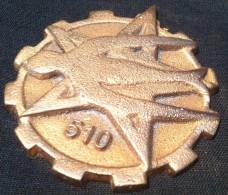 simca rare m�daille en bronze 7 cm auto insigne mascotte hirondelle �toile