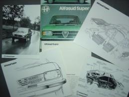 Farde presse - ALFA ROMEO - ALFASUD SUPER - 1977
