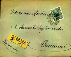1919: Einschreiben Ab HLINSKO In BÖHMEN - 1918-1945 1. Republik