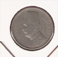 EGYPTE 5 MILLIEMES 1933 - Egypte