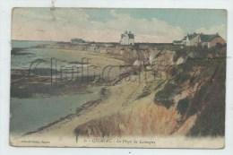 Mesquer-Quimiac (44) :  La Plage De Quimiac Vue De La Falaise En 1913 PF. - Mesquer Quimiac