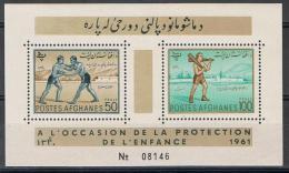 Afganistan Y/T Blok 4 (**) - Afghanistan