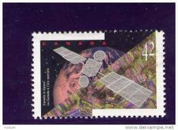 CANADA, 1992, Used, 1441, CANADA IN SPACE Satellite Terre - Oblitérés