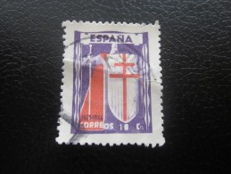 Vignette Label Sticker -Aufkleber Viñeta Etichetta * Sanitaire Antituberculeux Anti Tuberculose Espagne Espana 1943/44 - Erinofilia