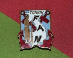 insigne Forces Amphibies Nord TONKIN