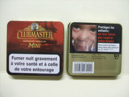 BOITE Métal Vide CLUBMASTER MINI Superior Vanilla (20 Cigares) - Zigarrenetuis