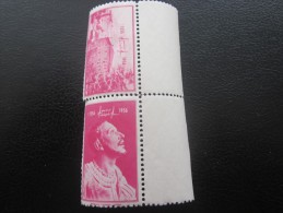Vignette Label Sticker-Aufkleber Viñeta Etichetta Neuf ** 1956 Íñigo López De Loyola,francisé > Ignace - Erinofilia