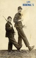 LES BOBENAL'S.. PUBLICITE Comique Troupier Artistes Humour Militaire Geant.spectacle Cabaret - Cabarets