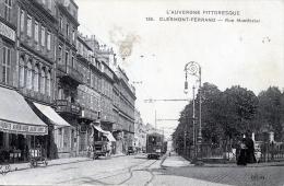 C1734 Cpa 63 Clermont Ferrand - Rue Montlozier - Clermont Ferrand