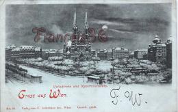 Autriche - Gruss Aus Wien - Votivkirche Und Maximilianplatz - Good Condition - Autriche