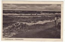 SWINOUJSCIE BEACH -   postcard   used   ( L 210 )