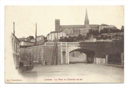 Carte Postale - LOBBES - Le Pont Du Chemin De Fer - CPA   // - Lobbes
