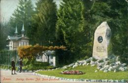 SUISSE BASEL / Zoolog Garten, Joh Beck Denkmal / - BS Bâle-Ville