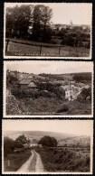 3 X CARTE * STUD HALTINNES - 3 DIFFERENTS PANORAMA * - CARTES PHOTOS IMPEC ! - Gesves