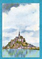 MONT SAINT MICHEL - Service Commercial Monuments Historiques - 50 353 71 7267 9002 - Scans Recto/verso - Le Mont Saint Michel