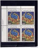 CANADA 1981, # 898, L´ACADIE BY NEREE DE GRACE ,   BLOCK  MNH - Blocs-feuillets