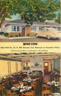 225337-California, Merced, Pine Cone Restaurant, US Highway 99, Linen Postcard, Colourpicture No K2000 - United States